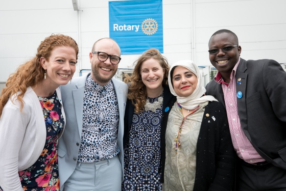The Rotary Peace Symposium. 31 May 2019, Hamburg, Germany.